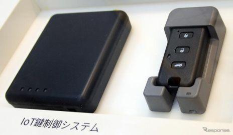 ヨコオの遠隔ドアロック制御システム…オートモーティブワールド2021