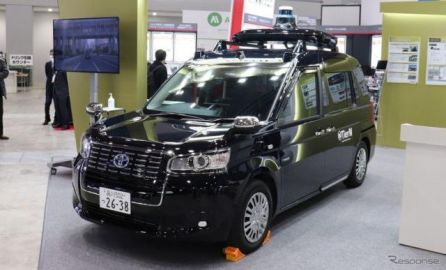 無人タクシーはいつ実現される?…オートモーティブワールド2021