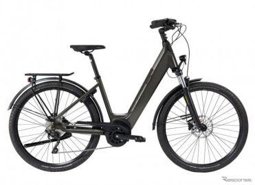 プジョーから新型電動アシスト自転車、クロスオーバー仕様…欧州発売