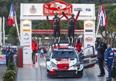 【WRC 開幕戦】オジェが通算50勝目、トヨタは1-2で復帰後初のモンテ制覇…勝田貴元が自己最高更新の6位
