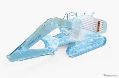 コマツ、建設機械の電動化を加速…プロテラからリチウムイオン電池調達