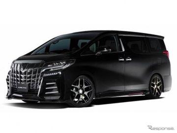 アルパインスタイルからコンプリートカー6台、店舗キャラバンの予定…東京オートサロン2021