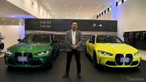 【BMW M3 & M4新型】M4にはマニュアルトランスミッションも設定