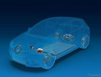 ZFのEV向けブレーキ、VWの「ID.」シリーズに採用…回生システムで航続伸ばす