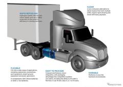 GMの新世代燃料電池、量産トラックに搭載…小型設計の「パワーキューブ」
