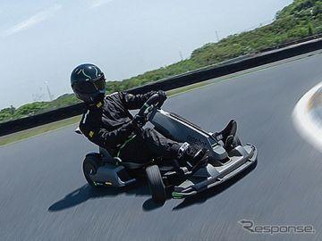 「二輪にもなる」セグウェイの本格電動ゴーカート日本上陸、ドリフトアシスト機能搭載