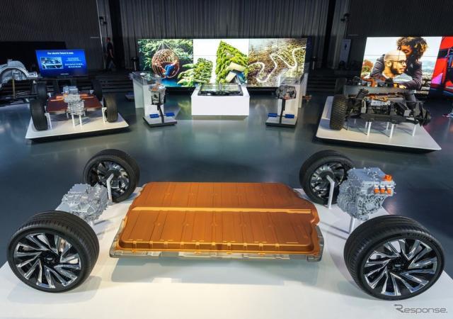 GMの次世代EV向け「アルティウム」車台《photo by GM》