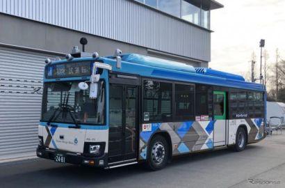 自動運転の大型路線バスを運行、実証実験を実施 西武バスなど