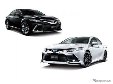【トヨタ カムリ 改良新型】モデリスタ、エアロパーツやメッキガーニッシュでスタイリッシュに