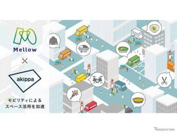 akippaとMellowが提携、駐車場へのキッチンカー出店などモビリティによるスペース活用を加速