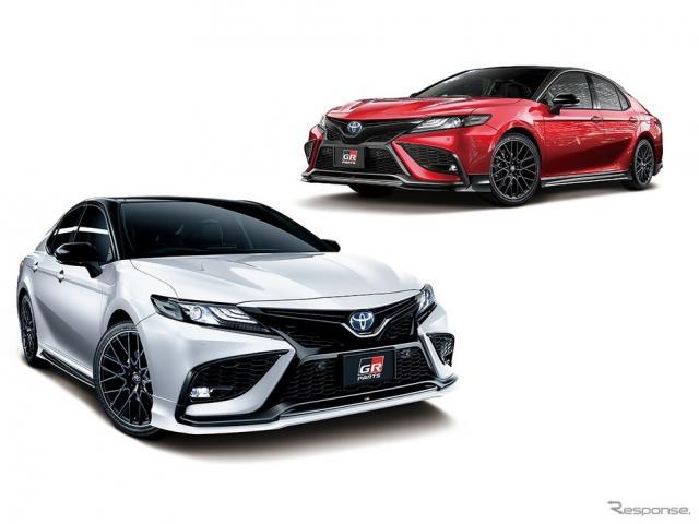 ブラックエディション(右上)とセンシュアル スポーツ スタイル(左下)《画像提供 トヨタカスタマイジング&ディベロップメント》