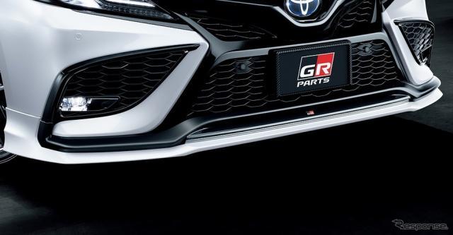 GRフロントスポイラー(センシュアル スポーツ スタイル)《画像提供 トヨタカスタマイジング&ディベロップメント》