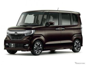 ホンダ N-BOX、14か月連続トップ…軽自動車販売1月車名別