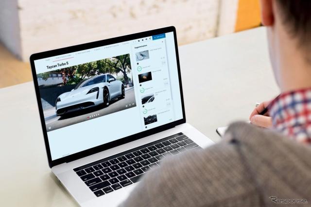 ポルシェのカーコンフィギュレーター《photo by Porsche》