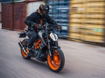KTMジャパン、スモールデュークシリーズなど2021ストリートモデル5車種発売へ