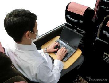 バスの車内でテレワーク、動くシェアオフィス…東急バスが実証運行へ