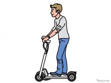 電動キックボードのヘルメット、かぶらなくてもOK…特例措置を実施へ