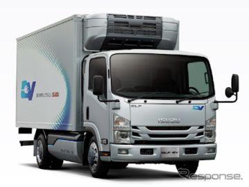 いすゞ、小型電気トラックを量販開始 2022年度から