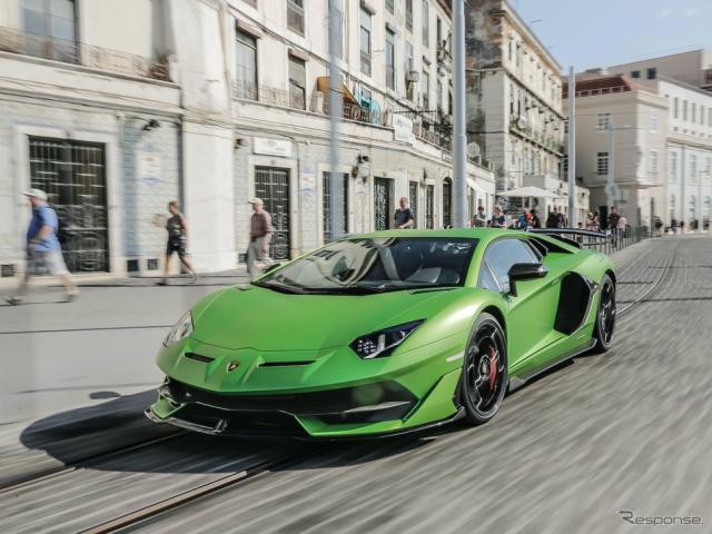 ランボルギーニ・アヴェンタドールSVJ《photo by Lamborghini》