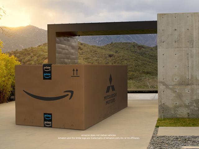 Amazon Live(米国)で新型『アウトランダー』をオンライン発表《画像提供 三菱自動車》