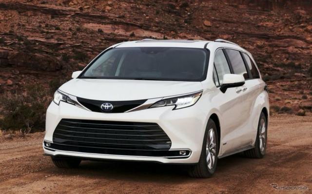 トヨタ・シエナ新型《photo by Toyota》