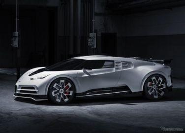 ブガッティの1600馬力『チェントディエチ』、プロトタイプが完成…限定10台を2022年納車