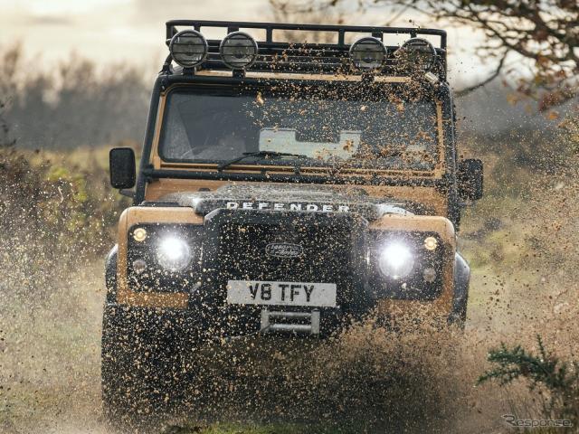 ランドローバー・ディフェンダー・ワークス V8トロフィー《photo by Land Rover》