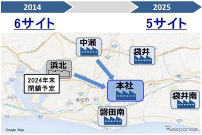 ヤマハ発動機、二輪車の生産を再配置…浜松市の2工場を磐田市本社工場に集約