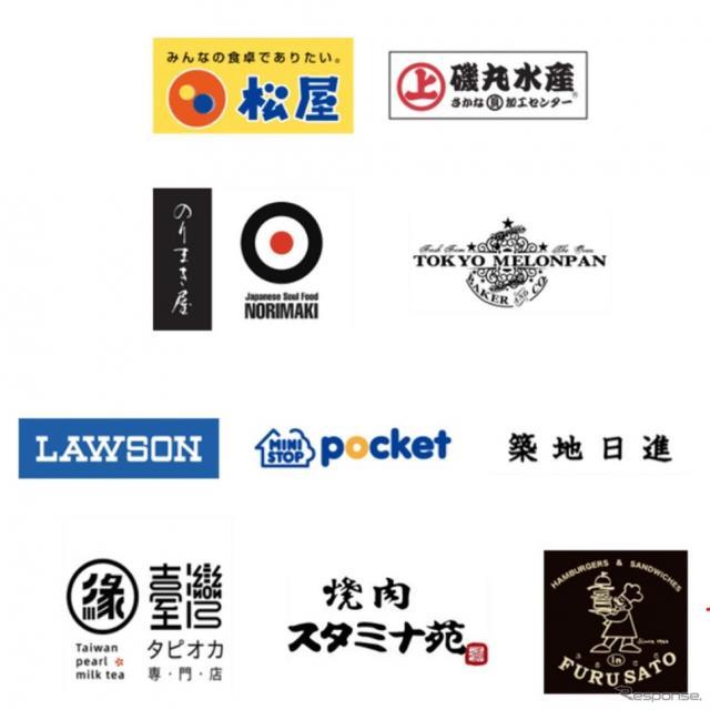 佃・月島エリア周辺店舗10店が実証実験に協力した
