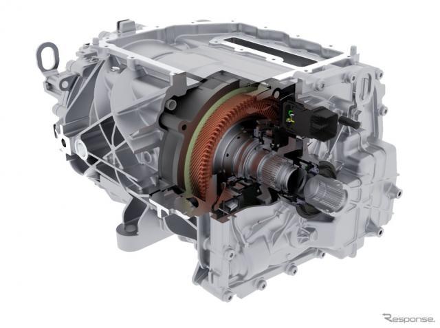 ボルグワーナーの電動車向け新型モーター《photo by BorgWarner》