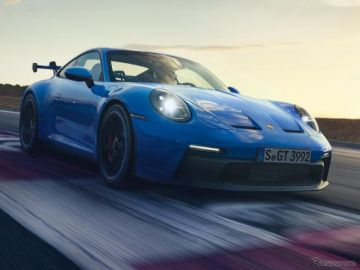 ポルシェ 911 GT3 新型発表…レース技術採用、ダウンフォース強化、軽量化