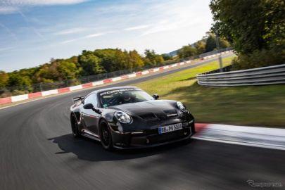 """ポルシェ 911 GT3 新型発表…""""緑の地獄""""を17秒短縮、ニュルでアンダー7分"""