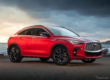 インフィニティの新SUVクーペ『QX55』、予約受注を開始…4月に米国発売