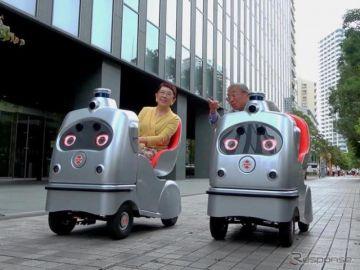 一人乗り自動運転ロボZMP『ラクロ』、シェアリングサービスのフランチャイズオーナー募集