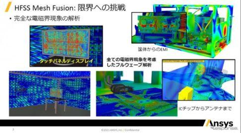 ナノメートルからメートルまで、電磁界をシミュレーション…アンシスHFSS Mesh Fusionのすごさ