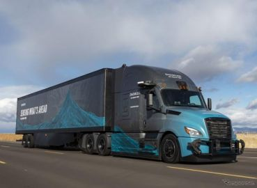 ダイムラー、アマゾンを優先クラウドプロバイダーに…自動運転トラックのデータを高速処理