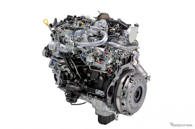 1GD型ディーゼルエンジン《写真提供 豊田自動織機》