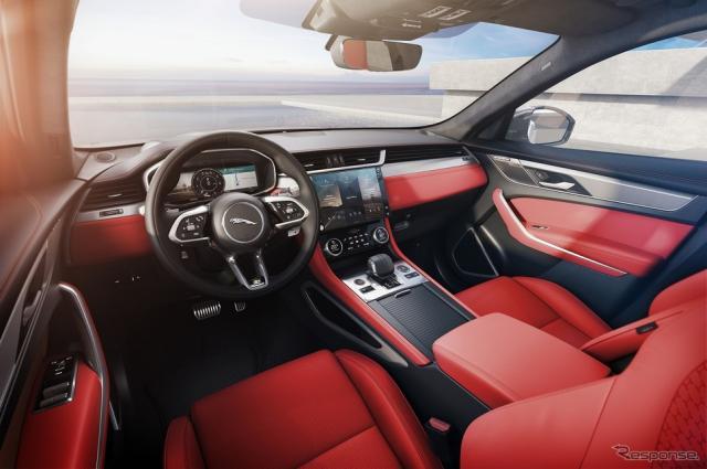 ジャガー F-PACE 2021年モデル《写真提供 ジャガー・ランドローバー・ジャパン》