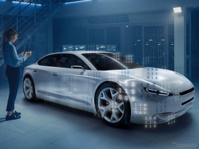 ボッシュの車載ソフトウェアプラットフォームの開発イメージ《photo by Bosch》