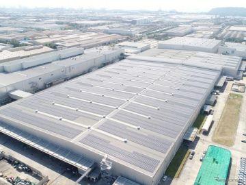 三菱自動車、タイ生産工場で大規模太陽光発電の稼働開始---CO2年間排出量を6100t以上削減