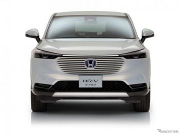 ホンダ HR-V 新型、全車ハイブリッドに 2021年後半欧州発売