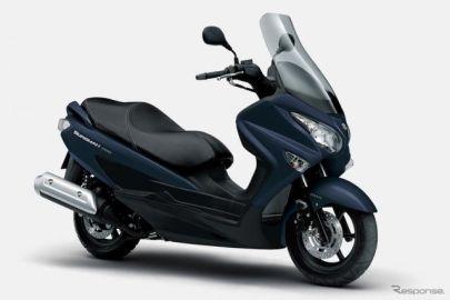 スズキ バーグマン200、ABSを標準化 3月16日より発売