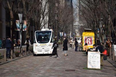 歩行者天国で自動運転モビリティを実証実験へ---歩行者との共存を検証