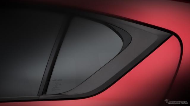 レクサスの新たな「F SPORT」モデルのティザーイメージ《photo by Lexus》