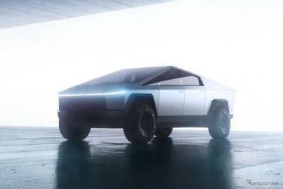 テスラ初のEVピックアップトラック『サイバートラック』、最終デザインを確認…マスクCEO