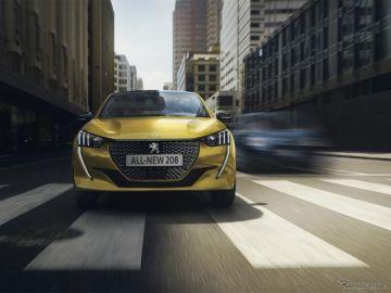 プジョー 208、ガソリンモデルの燃費を5%向上…エコカー減税対象に