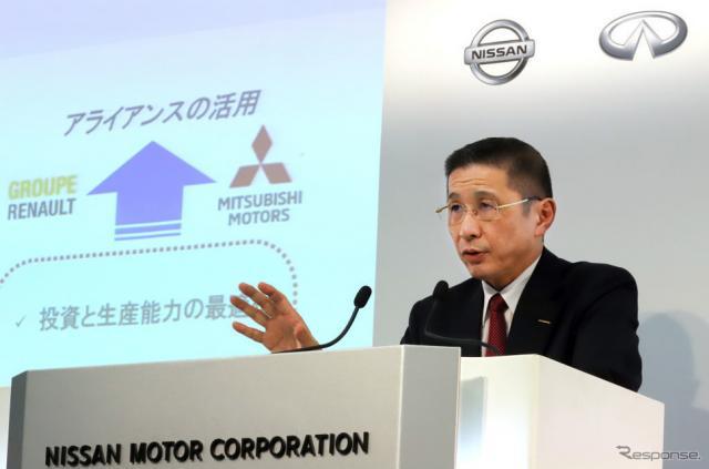 日産自動車の西川CEO(2019年5月)《Photo by YOSHIKAZU TSUNO/Gamma-Rapho via Getty Images/ゲッティイメージズ》