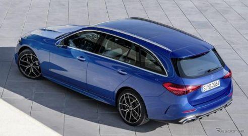 メルセデスベンツ Cクラスワゴン 新型、スポーティに…欧州発表