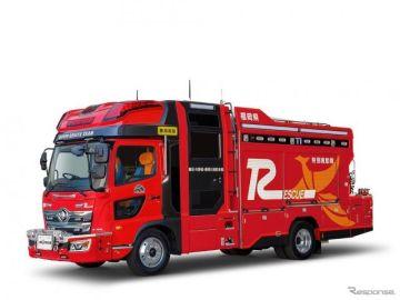 モリタ、消防レスキューカーをモデルチェンジ…地域を守るヒーローをサポート