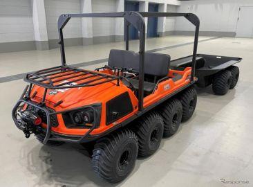 KDDI、水陸両用車と四輪バギーを導入---自然災害時の迅速な通信復旧へ